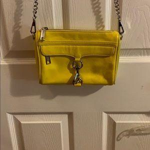 Rebecca Minkoff Mini MAC Yellow/Canary